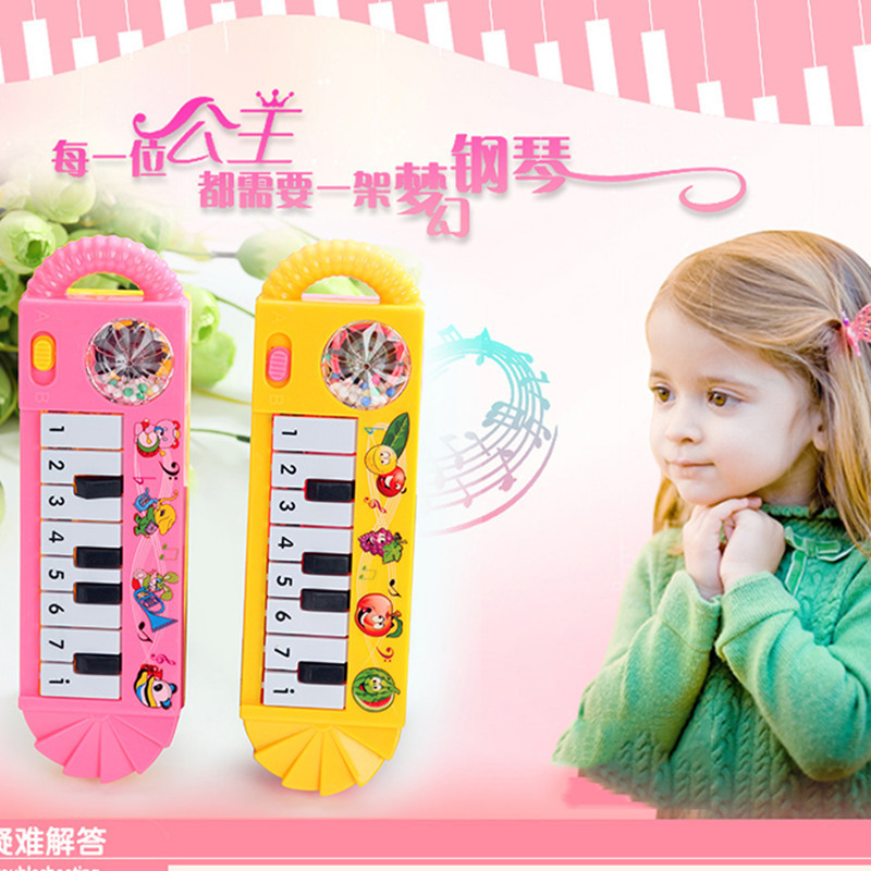 Musical instruments toy for kids Cartoon electronic organ toy keyboard Electronic baby key piano Educational toy piano for child(China (Mainland))