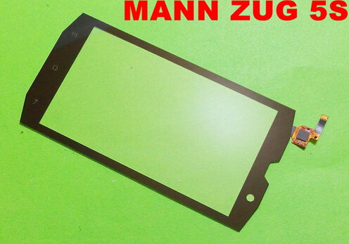 Фотография High quality oringal new black touch screen for MANN ZUG 5 5s Panel lens Replacement with wholesale