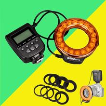 Buy Meike FC110 FC-110 LED Macro Ring Flash Light Canon 6d 60d 5d mark iii Nikon d7100 d3100 d5300 d750 Olympus Panasonic Pentax for $35.89 in AliExpress store