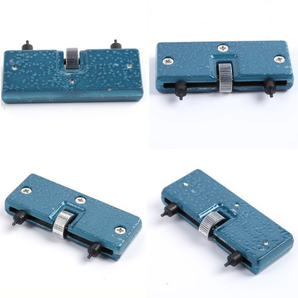Retail Wholesales Rectangle Adjustable Watch Back Case Cover Opener Remover Wrench Repair Kit Tool(China (Mainland))