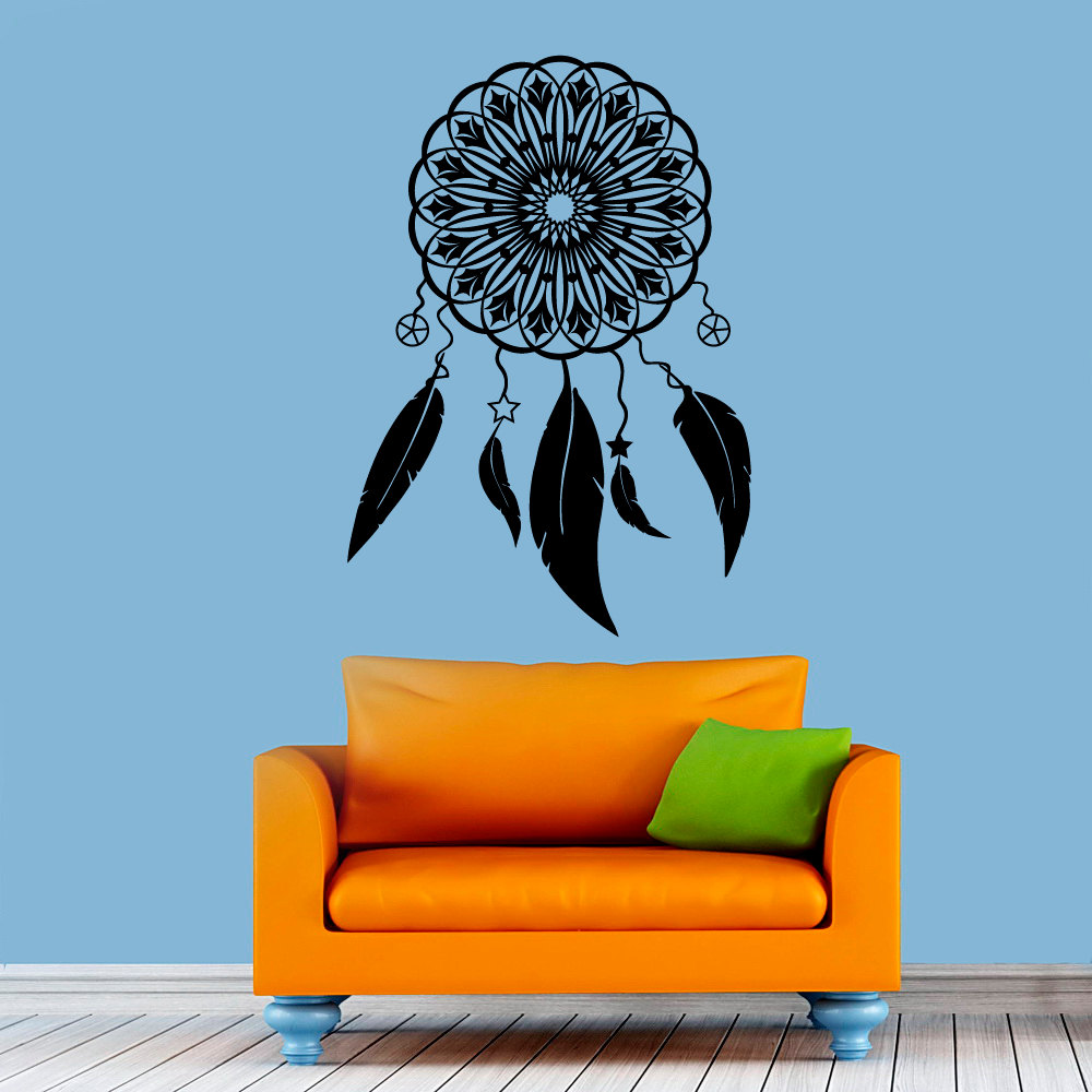 Wall Art Decor Vinyl : Living room protection symbol art wall decor sticker vinyl