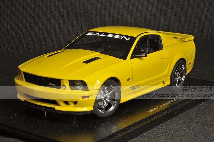 Autoart Ford SALEEN - Ford Saleen Mustang S281 the yellow car model(China (Mainland))