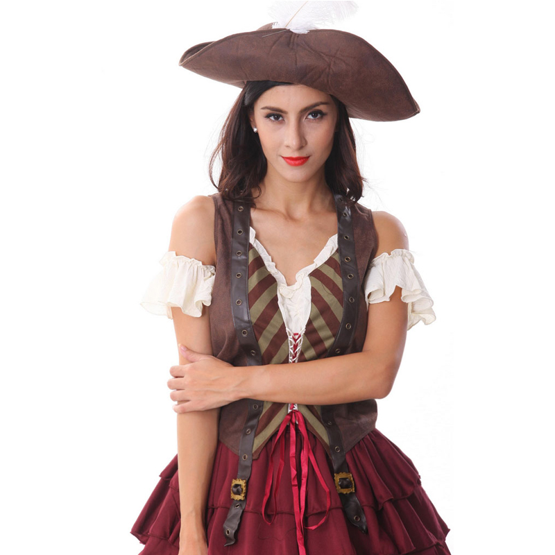Brand New Sexy Spanish Pirate Swashbuckler Adult Halloween ...