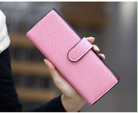 55card long leather women female business id credit card holders case passport cover wallets carteras de marca monederos mujer 5