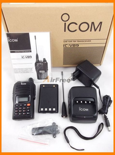 New 7W 199CH Walkie Talkie VHF V89 Interphone Transceiver Two-Way Radio with LCD Mobile Portable Handled