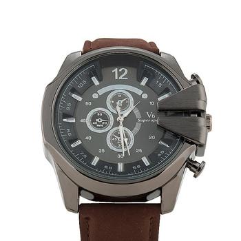 Горячая распродажа 2015 мода v6 часы мужчины люксовый бренд аналоговый спортивные часы Высокое качество кварцевые военные часы мужчины relógio masculino