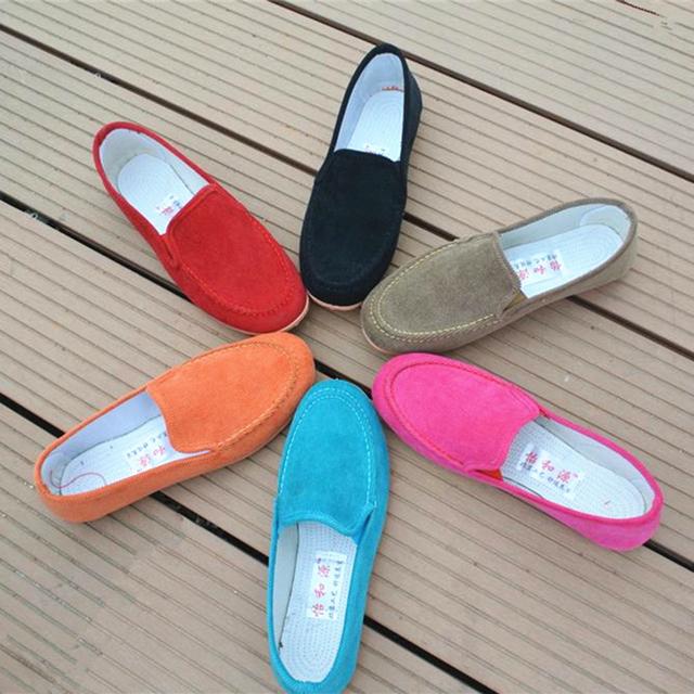 2015 случайные весной и осенью обувь одного Мокасины женские туфли бездельничали ...