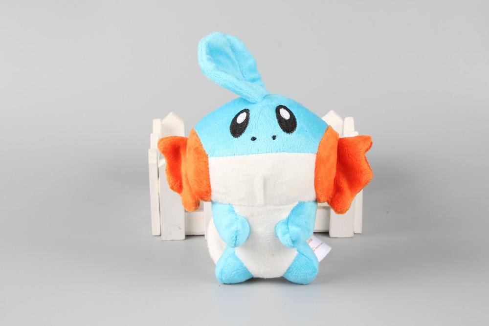"""6"""" 15cm Cute Pokemon Mudkip Plush Toys Soft Stuffed Dolls Kids Gift(China (Mainland))"""