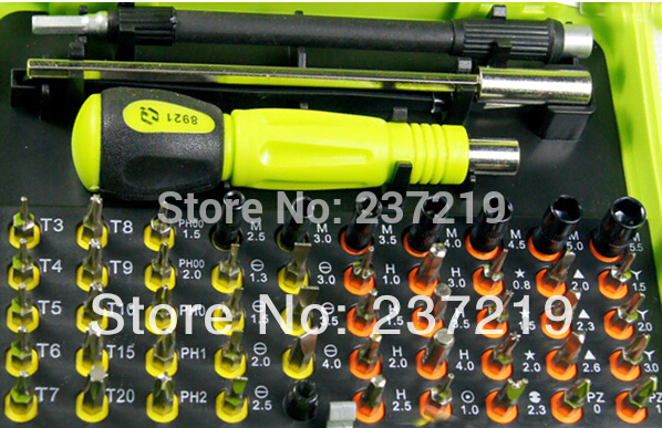 53 in1 Multi-purpose precision Magnetic Screwdriver Set PC Notebook phone iphone4 Chaiji tools DHL free shipping(China (Mainland))