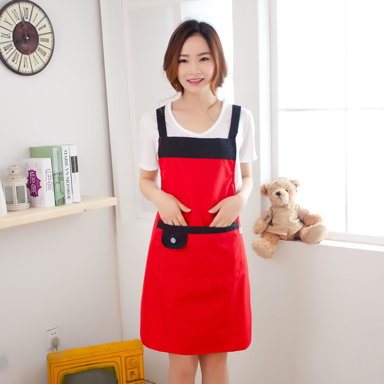 Women new sexy elegant lovely waitress apron ladies fashion solid lovely beautiful aprons teenager school aprons FF127(China (Mainland))