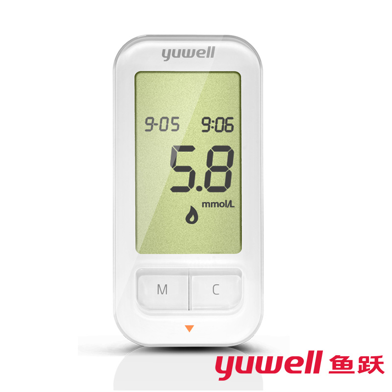 yuwell 309 smart phone glucometer blood sugar tester monitor diabetes blood glucose meter monitor sugar meter sugar test machine