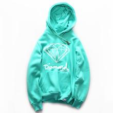 Mens Sweatshirts fashion Diamond 2015 hip hop Fashion autumn winter Hoodie fitness Hoodies men new element men tops ding