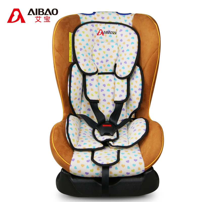Ai Bao child car safety seat baby infant car safety seat 0-4 years old sitting recumbent modification(China (Mainland))