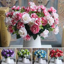 15 heads Silk Flowers – Artificial Rose