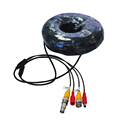 CCTV accessories 18m CCTV Cable BNC DC plug cable For CCTV Surveillance Camera and DVR Kits