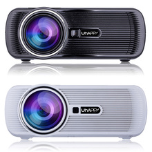 1000 Lumens 3D Projector LED Projector 1000:1 Contrast Support 1080P Home Cinema Video Projector U80 Free Shipping(China (Mainland))