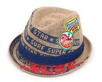 tz025-2 Free shopping 1pcs 4color Han edition adult hemp straw hat men Head circumference 58cm/ straw cap hat free /jazz hat