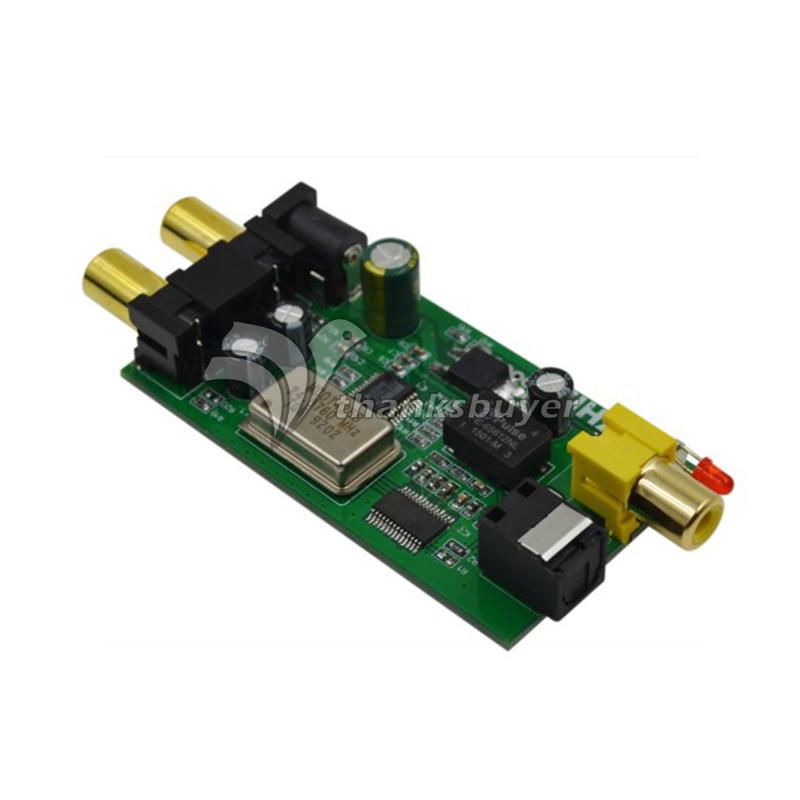 ZHILAI L5 Analog Digital Audio Signal Converter Board Decoder Board DAC Simulation to Optical Fiber Coaxial Signal(China (Mainland))