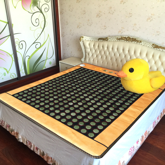 Free Shipping Jade Heating Health Mattress electric jade heating cushion 3 Size for You Choice(China (Mainland))