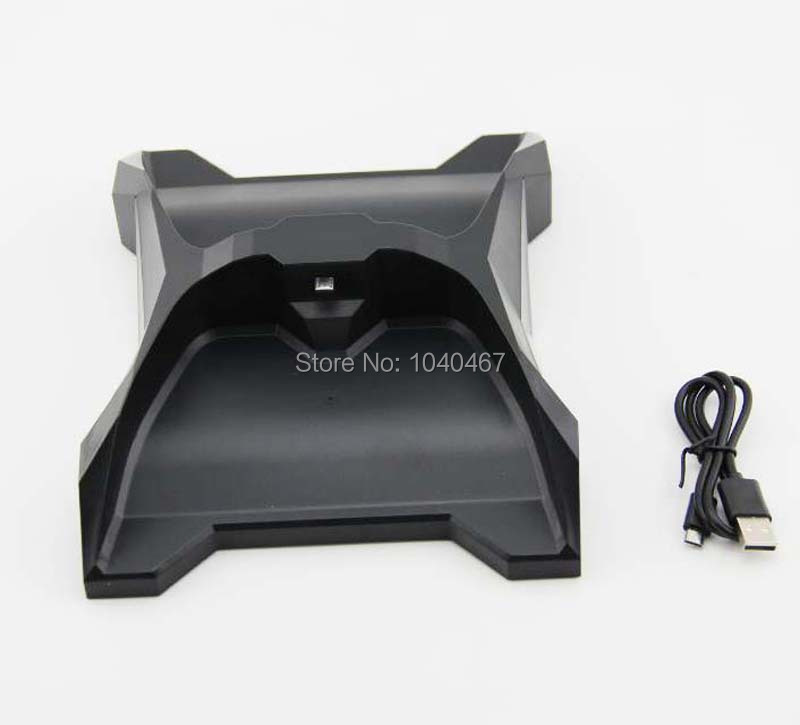 New Dual Charge Station Charger Stand for xbox one controller consoleWholesale Promotion(China (Mainland))