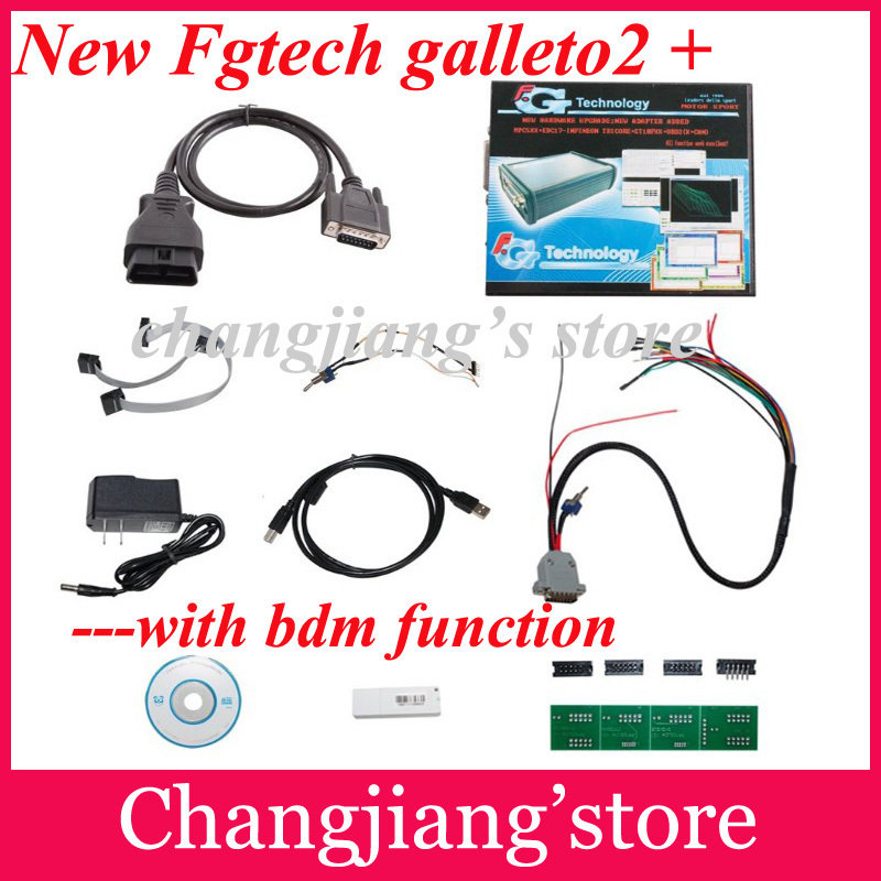 2014 Hot Sale newest version fg tech A-1 FGTech Galletto 2 Master v52 support BDM function No time limited free DHL,EMS shipping(China (Mainland))