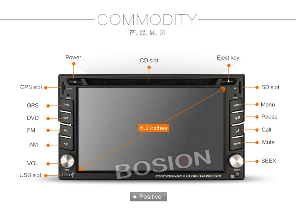 2din New universal Car Radio Double 2 din Car DVD Player GPS Navigation In dash Car PC Stereo video+Free Map+Free Camera(China (Mainland))