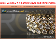 New Arrival TDM Solutions Rhinogold V5.7.0.6 With Clayoo & Emboss For Win 64Bit Support Multi-Language