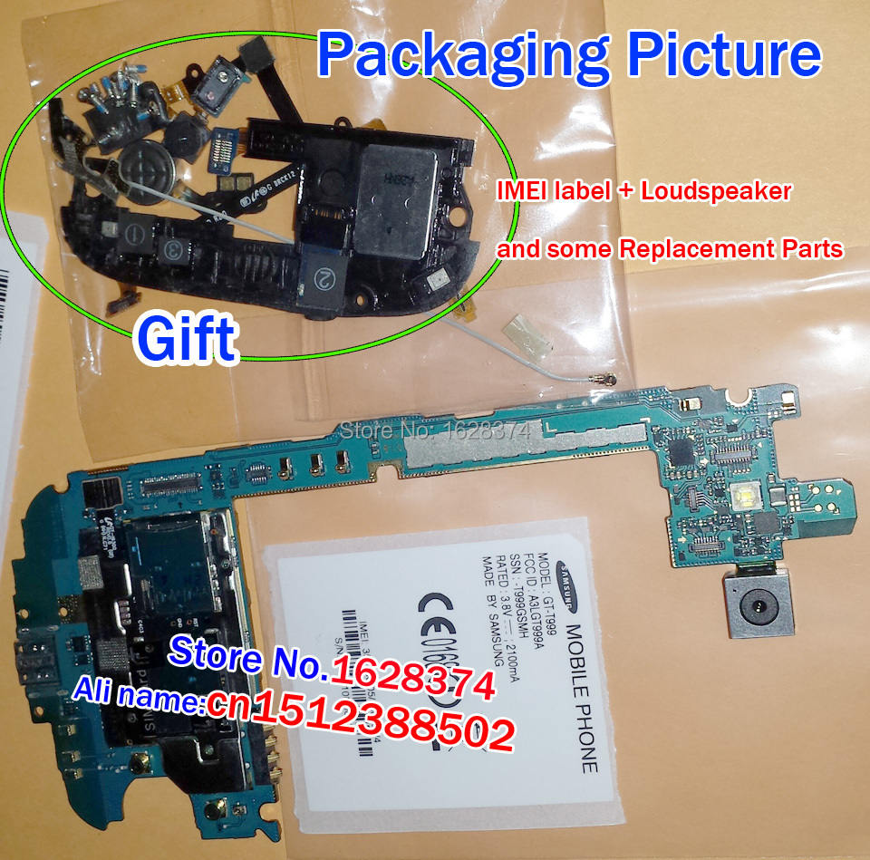100% Original Unlocked T-Mobile Motherboard Samsung Galaxy S3 SGH-T999 Main Board Chips + Replacement Parts - The real 925 silver jewelry factory store