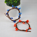 20pcs/lot Imitation flower rattan garland wristband bracelet Headwear DIY Equipment For Barbie Kurhn Doll Present Adorn Room