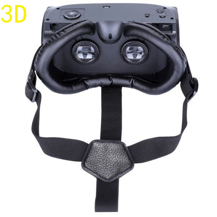 HMD-518 3D Personal Private 3D mobile theater cinema amazing 3D UI 1080P Storage MAX 32G TF USB data transmission 3D glasses  <br>