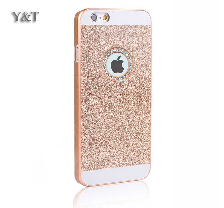 2015 cheap case for apple iphone 6 iphone6 4.7 luxury waterproof phone mobile accessories cases i6 i fashion by pc flash powder(China (Mainland))