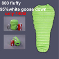 Hot Sales Famous Aegismax outdoor ultralight mummy type white Goose down camping spring and autumn sleeping