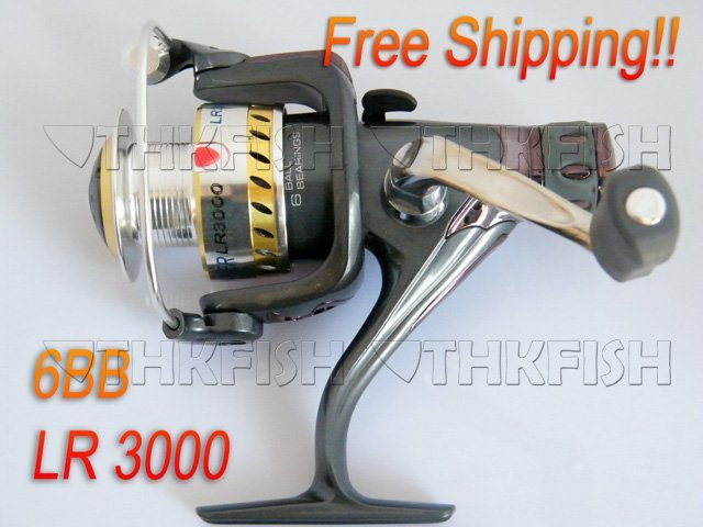 Promotion!! 1Pcs Pack Seahawker LR3000 Cast Aluminium Forged Spool Spinning Fishing Reels