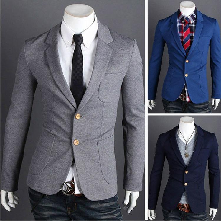 g c s clothing 2015 new mens blazer jacket coats