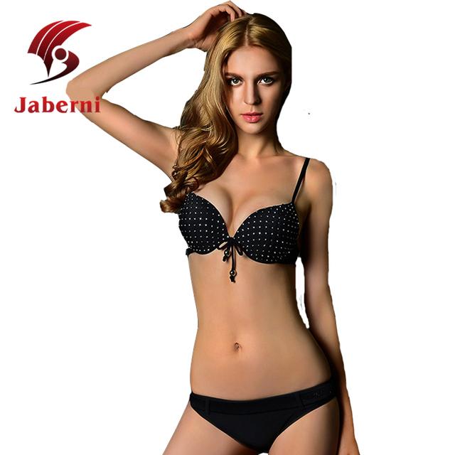 Лето панк бандо-бикини дамы сексуальное росту пляжная черный шику женщины бренд купальник ремешками Biquini