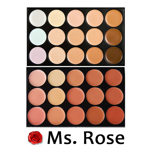 2015 new 15-color camouflage cream concealer makeup concealer palette eyeshadow makeup face care cosmetics brand two-color(China (Mainland))