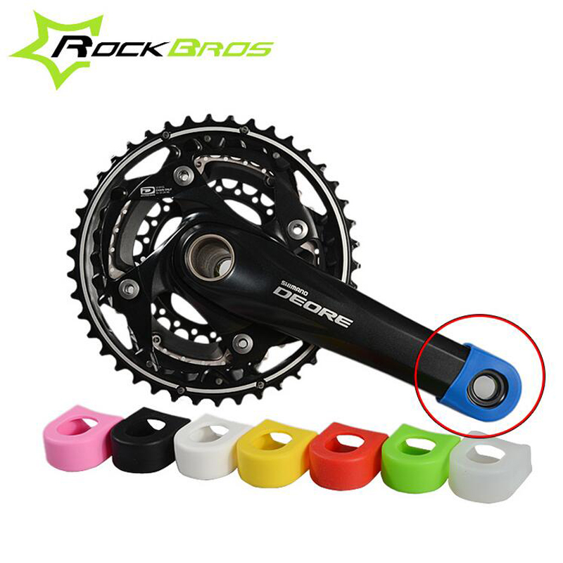 ROCKBROS Crankset Crank Protective Sleeve Protector Mountain Bike Road Bike Fixed Gear Bicycle Crank Protective Cover H6085(China (Mainland))