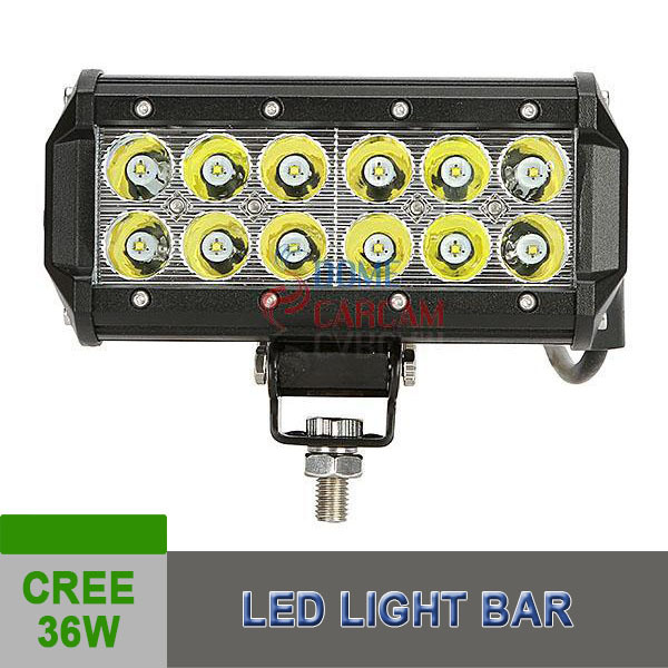 36w 7Inch Car Led Light LED Work Light Bar Combo Driving Offroad Car Lamp ATV Boat Racing Car Automobile Parts New Products(China (Mainland))