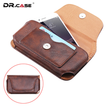 Buy DR.CASE Leather Pouch Samsung Galaxy Note 7 S7 Edge Universal Belt Wallet iPhone 6 6S 7 Plus Holster Coque Xiaomi for $6.99 in AliExpress store