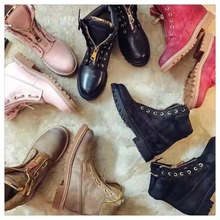Free Shipping Hot Sell Plus Size 2016 Leather Women Handmade Ranger Boots Motorcycle Fashion Work Shoes Spikes CowGirl Boots(China (Mainland))