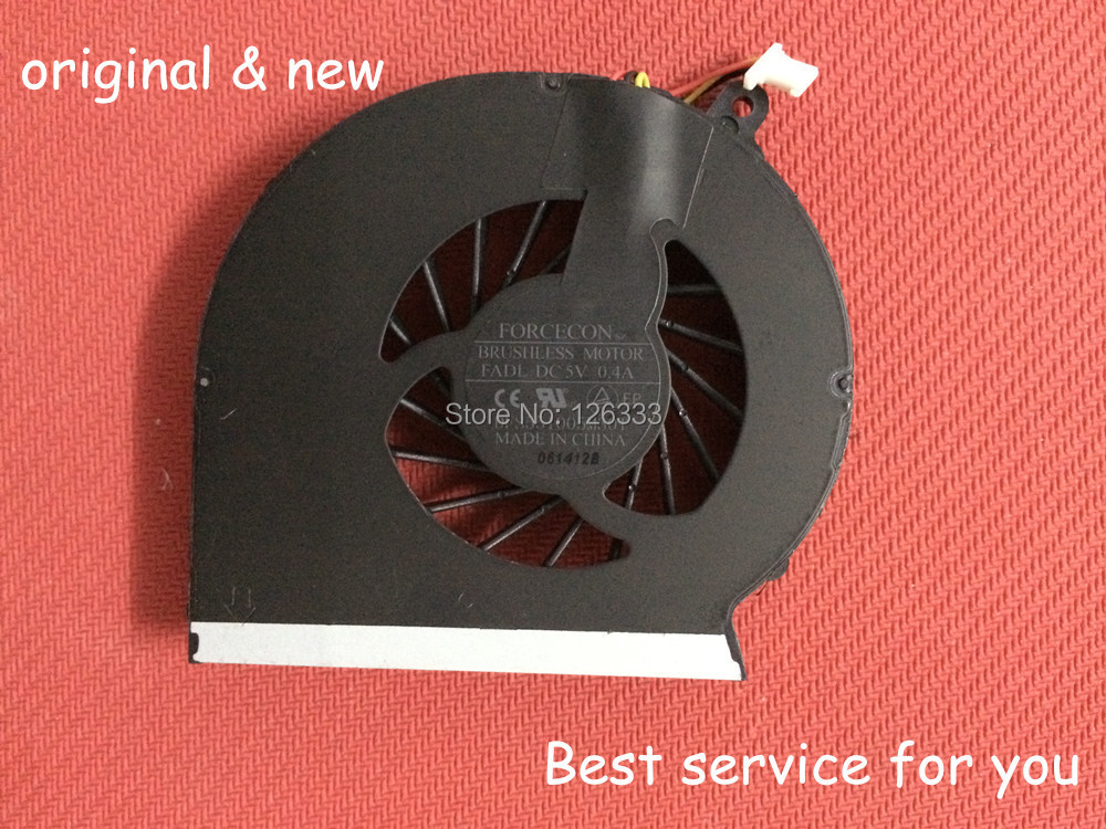 New and Orginal laptop cpu cooling fan for HP Compaq CQ43 G43 CQ57 G57 430 431 435 436 630 635 Cooler P/N:DFS551005M30T FADL(China (Mainland))