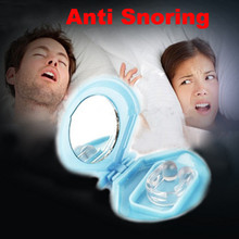 Health Care Silicon Stop Snoring Nose Clip Anti Snore Sleep Apnea Aid Device Night Tray