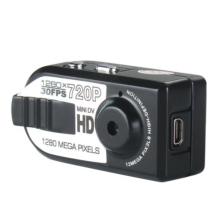 New Mini Thumb DV HD 720P Hidden DVR Video Camera Camcorder Support Web Cam(China (Mainland))