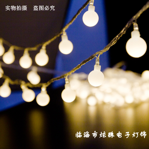 100 Bulbs 10 Meters String light Christmas/Wedding/Party Outdoor Decoration Lights Lighting LED Strips For Garden Plaza decor(China (Mainland))