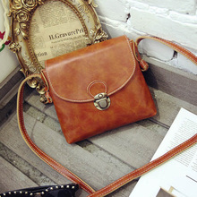Long Strap Leather Women Messenger Bags Small Vintage Leather Handbags Cheap Crossbody Bag for Women Bag Luxury Designer Purses(China (Mainland))