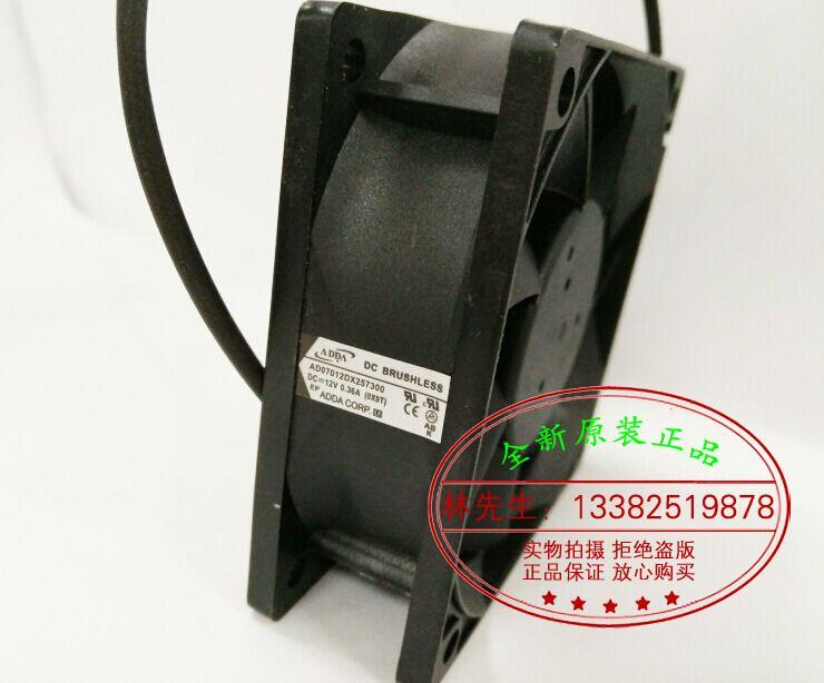 New Original ADDA AD07012DX257300 12V 0.35A for Acer EV-S21T D200 projector cooling fan<br><br>Aliexpress