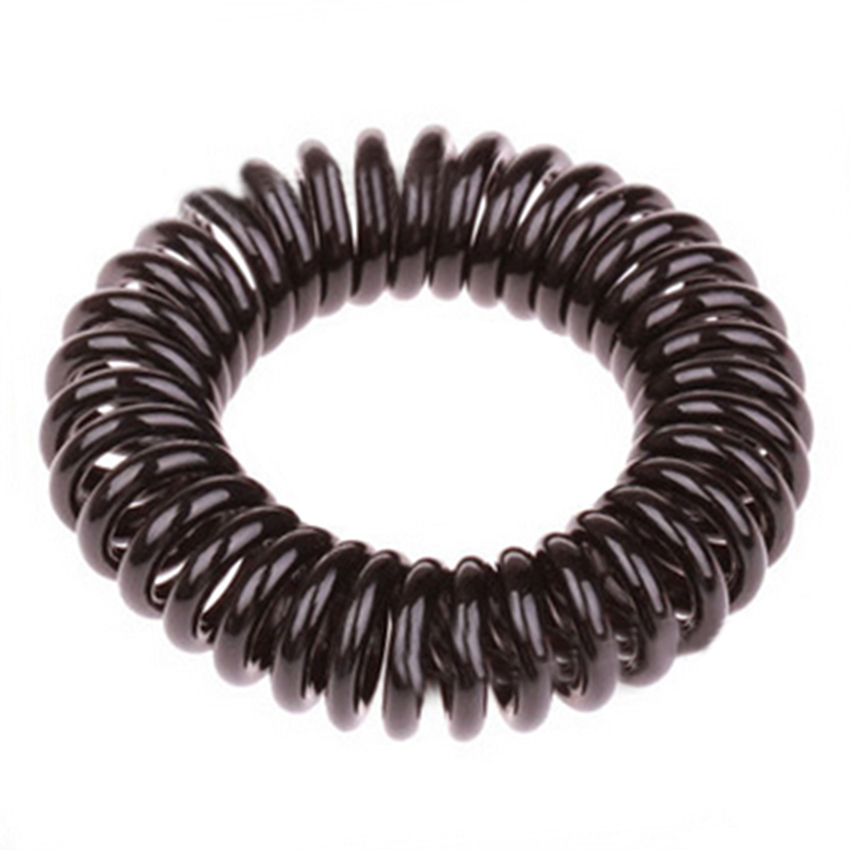 Cheap Price Black Elastic Hair Bands 10pcs/ Lot Wholesale Useful Hear Wear Girls Best Hair Accessories(China (Mainland))