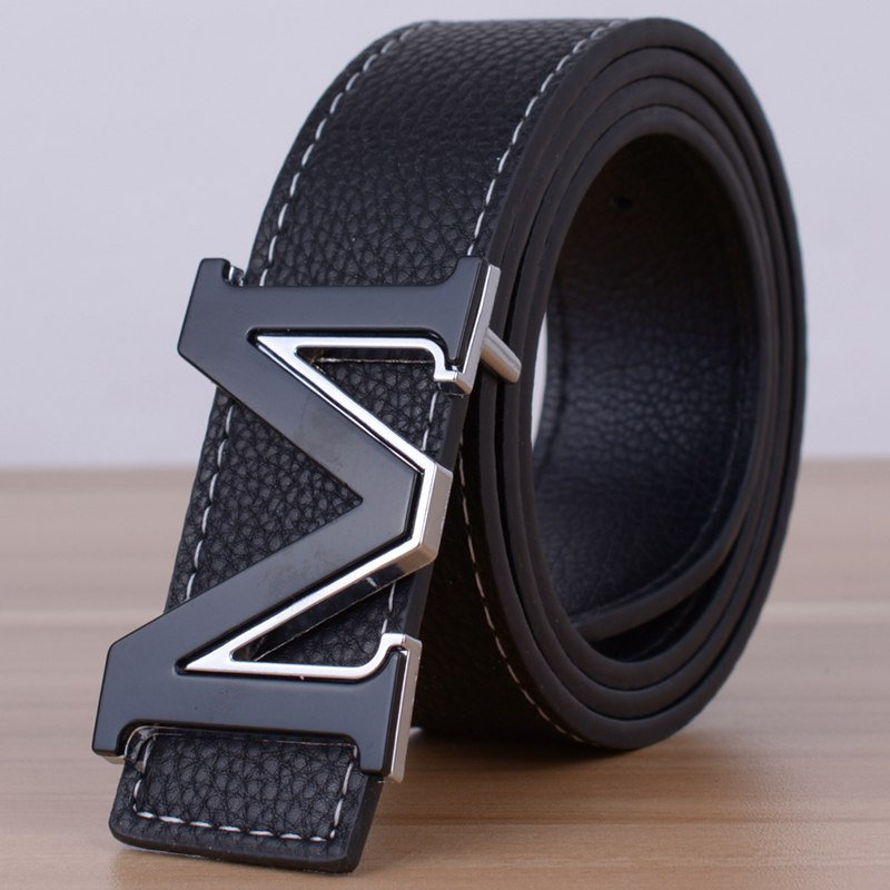 belt for men designer 5j3k  New 2017 Brand Designer M Belts Men High Quality Two sided use Cowhide  Fashion Leather Buckle