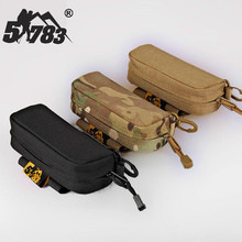 51783 Outdoor Protective Sunglasses Case Portable Hardshell Glasses Bag for Tactical Hunting Camping Sea Coast