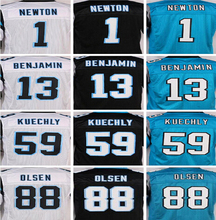 Best quality jersey, stitched jerseys,White and balck blue,Size 40-56(China (Mainland))